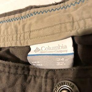 2/$8 Columbia Omni-Shield Cargo Pants